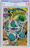 Modern Age (1980-Present):Superhero, Superman: The Man of Steel #18 (DC, 1992) CGC NM/MT 9.8 Whitepages....