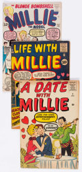 Silver Age (1956-1969):Romance, Millie the Model Group (Atlas, 1960s) Condition: Average GD/VG....(Total: 10 Comic Books)