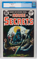 Bronze Age (1970-1979):Horror, House of Secrets #112 (DC, 1973) CGC NM 9.4 White pages....