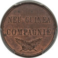 German New Guinea, German New Guinea: German Colony. Wilhelm II 2 Pfennig 1894-A MS64Red and Brown PCGS,...