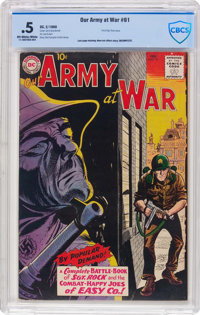 Our Army at War #91 (DC, 1960) CBCS PR 0.5 Off-white to white pages