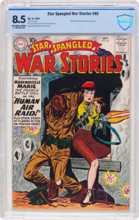 Star Spangled War Stories #85 (DC, 1959) CBCS VF+ 8.5 Off-white to white pages