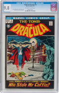 Bronze Age (1970-1979):Horror, Tomb of Dracula #2 (Marvel, 1972) CGC NM/MT 9.8 Off-white to whitepages....