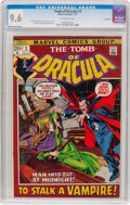Bronze Age (1970-1979):Horror, Tomb of Dracula #3 Oakland Pedigree (Marvel, 1972) CGC NM+ 9.6Off-white pages....