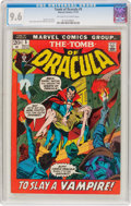 Bronze Age (1970-1979):Horror, Tomb of Dracula #5 (Marvel, 1972) CGC NM+ 9.6 Off-white to whitepages....