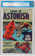 Silver Age (1956-1969):Science Fiction, Tales to Astonish #30 (Marvel, 1962) CGC VF 8.0 Off-white to whitepages....