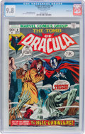 Bronze Age (1970-1979):Horror, Tomb of Dracula #8 Double Cover (Marvel, 1973) CGC NM/MT 9.8 Whitepages....