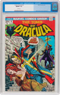 Bronze Age (1970-1979):Horror, Tomb of Dracula #9 (Marvel, 1973) CGC NM/MT 9.8 White pages....