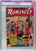 Golden Age (1938-1955):Romance, Teen-Age Romances #10 (St. John, 1950) CGC Apparent VG 4.0Off-white to white pages....
