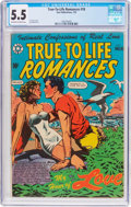Golden Age (1938-1955):Romance, True-To-Life Romances #18 (Star Publications, 1953) CGC FN- 5.5 Off-white to white pages....