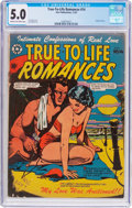 Golden Age (1938-1955):Romance, True-To-Life Romances #14 (Star Publications, 1952) CGC VG/FN 5.0Cream to off-white pages....