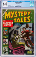 Golden Age (1938-1955):Horror, Mystery Tales #15 (Atlas, 1953) CGC FN 6.0 Off-white pages....