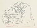 Animation Art:Production Drawing, Pinocchio Stromboli Animation Drawing (Walt Disney, 1940). ....