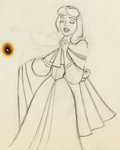 "Animation Art:Production Drawing, Sleeping Beauty Briar Rose and ""Mock Prince"" AnimalsAnimation Drawings Group of 2 (Walt Disney, 1959). ... (Total: 2 )"