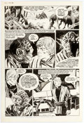 "Original Comic Art:Panel Pages, Al Williamson Marvel Super Special #27 ""Return of the Jedi""Story Page 30 Yoda and Luke Skywalker Original Art (Ma..."