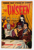 Golden Age (1938-1955):Horror, The Unseen #14 (Standard, 1954) Condition: GD/VG....