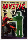 Golden Age (1938-1955):Horror, Mystic #35 (Atlas, 1955) Condition: VG....