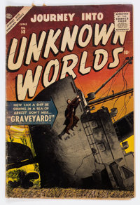 Journey Into Unknown Worlds #58 (Atlas, 1957) Condition: VG