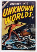Golden Age (1938-1955):Science Fiction, Journey Into Unknown Worlds #32 (Atlas, 1954) Condition: VG....