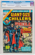Bronze Age (1970-1979):Horror, Giant-Size Chillers #1 (Marvel, 1975) CGC NM+ 9.6 Off-whitepages....