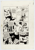 Original Comic Art:Panel Pages, Neal Adams and Dick Giordano Batman: Stacked Cards [Book andRecord Set] #PR27 Page 8 Original Art (Power Records,...