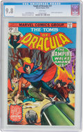 Bronze Age (1970-1979):Horror, Tomb of Dracula #37 (Marvel, 1975) CGC NM/MT 9.8 White pages....