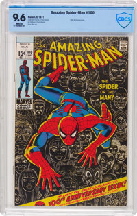 The Amazing Spider-Man #100 (Marvel, 1971) CBCS NM+ 9.6 White pages