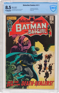 Detective Comics #411 (DC, 1971) CBCS VF+ 8.5 Off-white to white pages