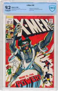 X-Men #56 (Marvel, 1969) CBCS NM- 9.2 Off-white to white pages