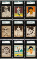Baseball Cards:Lots, 1938 - 1941 Goudey and Play Ball Collection (40) With Williams,DiMaggio and Jackson. ...