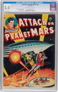 Golden Age (1938-1955):Science Fiction, Attack on Planet Mars #nn (Avon, 1951) CGC VG/FN 5.0 Off-white towhite pages....