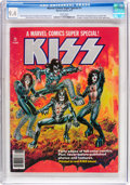 Magazines:Miscellaneous, Marvel Comics Super Special #1 KISS (Marvel, 1977) CGC NM 9.4 Whitepages....