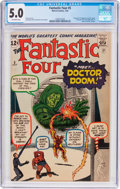Silver Age (1956-1969):Superhero, Fantastic Four #5 (Marvel, 1962) CGC VG/FN 5.0 Off-white pages....