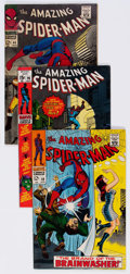 Silver Age (1956-1969):Superhero, The Amazing Spider-Man Group of 46 (Marvel, 1967-71) Condition:Average FN/VF.... (Total: 46 Comic Books)