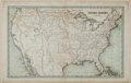 Books:Maps & Atlases, T.G. Bradford 1838 Map of the United States....