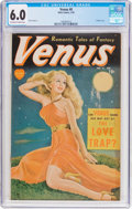 Golden Age (1938-1955):Romance, Venus #8 (Atlas, 1950) CGC FN 6.0 Off-white to white pages....