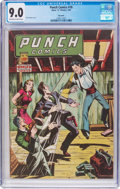 Golden Age (1938-1955):Crime, Punch Comics #18 Big Apple Pedigree (Chesler, 1946) CGC VF/NM 9.0 Off-white to white pages....