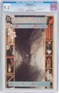 Sandman #1 (DC, 1989) CGC NM- 9.2 White pages