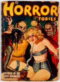 Pulps:Horror, Horror Stories - March 1940 (Popular) Condition: FR....