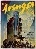 Pulps:Hero, The Avenger - January 1940 (Street & Smith) Condition: VG....