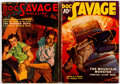 Pulps:Adventure, Doc Savage Group of 2 (Street & Smith, 1937-38) Condition: Average VG.... (Total: 2 Items)