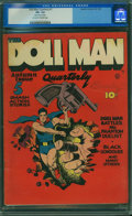 Golden Age (1938-1955):Superhero, Doll Man Quarterly #1 (Quality, 1941) CGC FN- 5.5 Off-white to white pages.