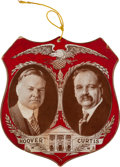 Political:3D & Other Display (1896-present), Hoover & Curtis: Two-Sided Jugate Shield Mobile. ...