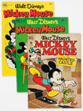 Golden Age (1938-1955):Cartoon Character, Four Color Walt Disney Related Group of 24 (Dell, 1951-62) Condition: Average VF.... (Total: 24 Comic Books)