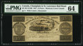 Canadian Currency: , Canada Montreal, LC- Champlain & St. Lawrence Rail Road 15 Pence/30 Sous/Quarter Dollar Aug. 1, 1837 Remainder. ...