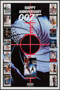 "Movie Posters:James Bond, Happy Anniversary 007: 25 Years of James Bond (MGM/UA, 1987). One Sheet (27"" X 41""). James Bond.. ..."
