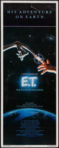 "Movie Posters:Science Fiction, E.T. The Extra-Terrestrial (Universal, 1982). Insert (14"" X 36"").Science Fiction.. ..."