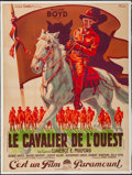 """Movie Posters:Western, Texas Trail (Paramount, 1937). French Grande (47"""" X 62.75""""). Western.. ..."""