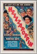 """Movie Posters:Comedy, Hellzapoppin' (Universal, 1941). One Sheet (27"""" X 41""""). Comedy....."""