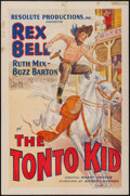 "Movie Posters:Western, The Tonto Kid (Resolute, 1934). One Sheet (27"" X 41""). Western.. ..."